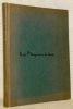 Leetres de Jeunesse (1870-1893). Première édition rehaussée de vingt et un bois dessins et gravés par Ch. Bisson.. BLOY, Léon.