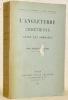 L'Angleterre chrétienne avant les Normands. Bibliothèque de l'enseignement de l'histoire ecclésiastique.. CABROL, Dom Fernand.