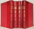 Instirutions de la Religion chrétienne. Texte établi et présenté par Jacques Pannier. 4 Volumes complet. Les Textes Français. Collection des ...
