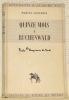 Quinze mois à Buchenwald. Collection Documents d'Aujourd'hui.. CONVERSY, Marcel.
