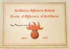 Artillerie-Offiziers-Schule. Ecole d'Officiers d'Artillerie. Bière 2917..
