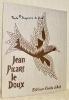 Murs de soleil.. PICART le DOUX, Jean. - BRUZEAU, Maurice (texte).