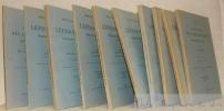 Essai de classification des Lépidoptères producteurs de soie. Facicules 1er - 10e.. DUSUZEAU, J. - SONTHONNAX, L. - CONTE, A. - BOUVIER, E. L. - RIEL, ...