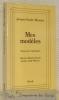 Mes modèles. Souvenirs littéraires. Barrès - Hardy - Proust - James - Gide - Moore.. BLANCHE, Jacques-Emile.