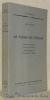 Le visage de l'église. Textes choisis et présentés par Hans Urs von Balthasar. Traduction française par Th. Camelot et J. Grumel. Collection Unam ...