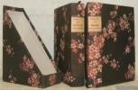 Japoneries d'automne. Quarante-deuxième édition. - Madame Crhysanthème. Cent seizième édition. (2 Volumes).. LOTI, Pierre.