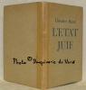 L'Etat juif. Préface de David Ben-Gouryone. Traduit par Elian-J. Finbert. Traduction de la préface de Moché Catane.. HERZL, Théodore.