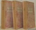 Mémoires précédés d'une préface par Paul Reboux. Tome I, tome II et tome III.. RICHELIEU, Maréchal de.