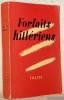 Frofaits hitlériens. Cahiers de Traits, 6 -7..