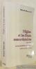 L'Eglise et les Etats concordataires. 1846 - 1981. La souveraineté spirituelle. Préface de Jean Gaudemet. Collection Thèse.. MINNERATH, Roland.