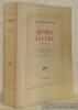 Lettres à la N.R.F. Edition établie, présentée et annotée par Pascal Fouché. Préface de Philippe Sollers.. CELINE, Louis-Ferdinand.