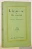L'Imposteur ou Elise Iconoclaste. Collection Les Cahiers Verts - III.. JOUHANDEAU, Marcel