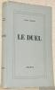 Le Duel.  Collection Grands romans étrangers 2.. Tchékhov, Antone.