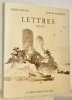 Lettres 1920 - 1957. Choix, présentation et notes de Gilbert Guisan.. BEGUIN, Labert. - RAYMOND, Marcel.