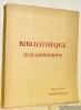 Bibliothèque de M. René Descamps-Scrive. Deuxième partie. Livres de la période romantique. Catalogue de vente..
