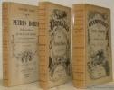 Le Lycanthrope. ( 3 Volumes, complets). 1. Sa vie et son oeuvre suivi d'une bibliographie. Orné d'un portrait et de 8 reproductions en héliogravure. ...