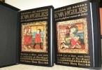 Les Evangiles avec le plafond roman de Zillis. Analyse iconographique de Ernst Murbach. 2 Volumes. Tome 1: Matthieu et Marc, texte latin dans ...