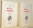 Oeuvres complètes. Edition étable, traduite et présentée par Armel Guerne. 2 Volumes. Tome 1: Romans - Poésies - Essais. Tome 2: Les Fragments. ...