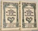 Les Amours de Leucippe et de Clitophon. 2 Volumes. Traduit du grec par Du Perron de Castéra. Illustré par Henry Chapront.  Collection Antiqua, n.° 20 ...