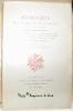 Mémoires de J. Casanova de Seingalt. Ecrits par lui même. Edition nouvelle d'aprés le texte de l'édition princeps Leipzig-Bruxelles-Paris (1826-1838). ...