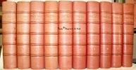 Mémoires de Casanova de Seingalt écrits par lui-même. Illustré de 200 hors-texte en couleurs d'après les aquarelles originales d'Auguste Leroux. 10 ...