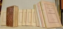 Oeuvres complètes. Edition du Centenaire. 15 Volumes. - Voyages en zigzag (Editions Pierre Cailler), 7 tomes format à l'italienne. - Nouvelles, 3 ...