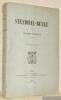 Stendhal-Beyle. Deuxième édition.. CHUQUET, Arthur.