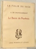 Le Baron du Puydreau. Collection La folie du sage.. CHATEAUBRIANT, A.de.