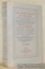 Le Cabinet secret du Parnasse. Recueil de poésies libres, rares ou peu connues, pour servir de Supplément aux Oeuvres dites complètes des Poètes ...
