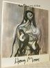 Henry Moore Sculptures Drawings the last 10 years..