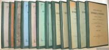 Dictionnaire historique et statistique des paroisses catholiques du Canton de Fribourg. 12 tomes complets.. DELLION, Apollinaire.