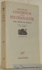 Nouvelles conférences sur la psychanalyse. Traduit de l?allemand par Anne Berman. Collection Les Essais LVII.. FREUD, Sigmund.
