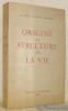 Origine et structure de la vie.. GALONIER-GRATZINSKY, Dr. Serge.