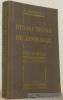 Précis-Atals de dissections de zoologie. Préface de M. le Professeur R. Koehler. Avec figures et 74 planches dans le texte.. BONNET, Dr. Amédée.