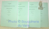 Académie des Inscriptions & Belles-Lettres. Comptes rendus des séances de l'année 2017, janvier-mars, avril-juin, juillet-octobre. Publication ...