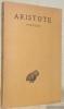 Poétique. Texte établi et traduit par J. Hardy. Collection des Universités de France publiée sous le patronage de l'Association Guillaume Budé.. ...