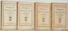 Correspondance entre Schiller et Goethe 1794-1805. traduite d'après l'édition allemande et précédée d'une introduction par Lucien Herr. 4 Volumes ...
