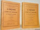 La Chrétienté et l'idée de Croisade. 2 Volumes. Tome 1: Les premières Croisades. Avec 4 planches hors txte et 1 carte en dépliant. Tome 2: ...