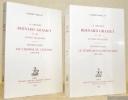 La Librairie Grasset et les lettres françaises. 2 Volumes. Tome 1: Les chemins de l'édition (1907-1914). Tome deux: Le temps des incertitudes ...