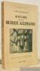 Histoire de la musique allemande Traduit de l'allemand par J. Gaudefroy-Demonbynes. Collection Bibliothèque Scientifique.. MULLER-BLATTAU, J.