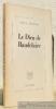 Le Dieu de Baudelaire. Edition originale.. ARNOLD, Paul.