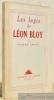 Les logis de Léon Bloy.. ARROU, Pierre.