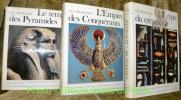 Le monde égyptien. Les Pharaons. Collection L'Univers des Formes dirigée par André Malraux. Tome I: Le temps des pyramides. De la Préhistoire aux ...