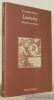 Lucrezio. Biografie umanistiche. Collezione Paradosis 3.. SOLARO, Giuseppe.