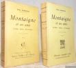Montaigne et ses amis. La Boétie - Charron - Mlle de Gournay. Nouvelle édition. 2 Volumes.. BONNEFON, Paul.