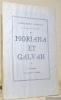Moriana et Galvan. Un intermède des souvenirs de théâtre. Illustrations originales de Claude Maurel.. ARNOUX, Alexandre.