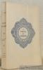 Le tapis de jasmins. Traduit du persan. Collection des Chefs-d'Oeuvre.. TOUSSAINT, Franz.