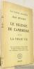 Le silence de Cambridge suivi de La vraie vie. Collection Les lettres nouvelles 2.. REVERZY, Jean.