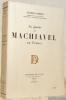 La pensée de Machiavel en France.. CHEREL, Albert.