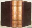 Voyage du Jeune Anacharsis en Grèce vers le milieu du quatrième siècle avant l'ère vulgaire. Tome premier et tome second.. BARTHELEMY, J.-J.